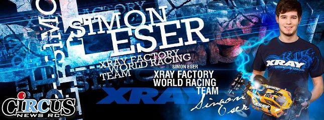 Simon Eser rejoint la team XRAY