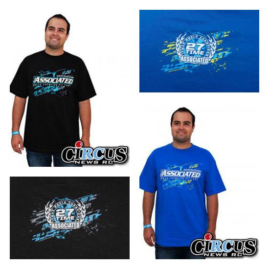 Nouveau t-shirt Splash chez Team Associated