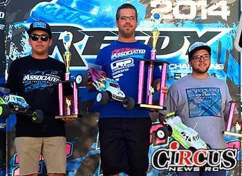 Steven Hartson gagne la Reedy Truck Race of Champions
