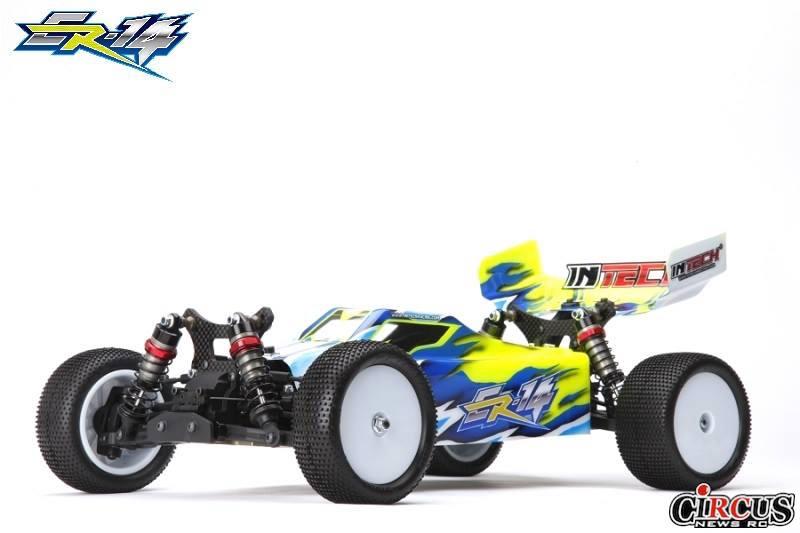 Le nouveau buggy Intech Racing ER-14 1/10 4wd dévoilé.