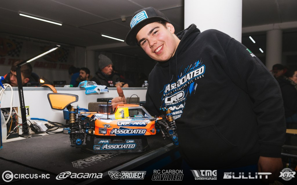 Davide Ongaro TQ la One Race One Man 2019