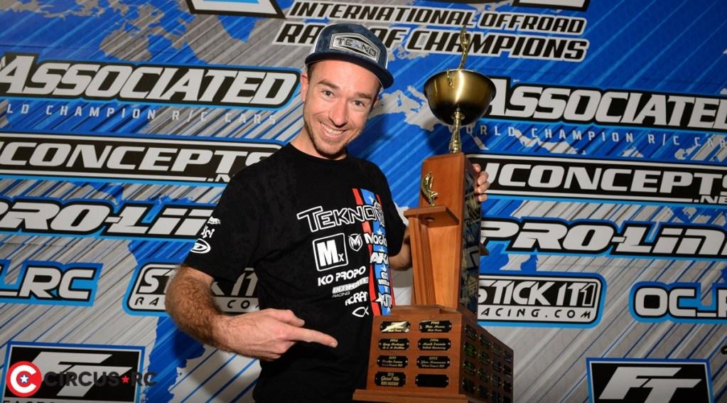 Jared Tebo couronné Champion de la Reedy Race