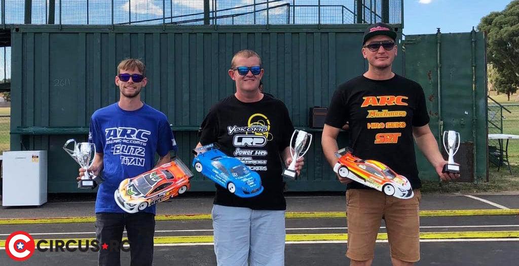 Simon Nicholson TQs & wins at 2019 RCRA ACT State Titles