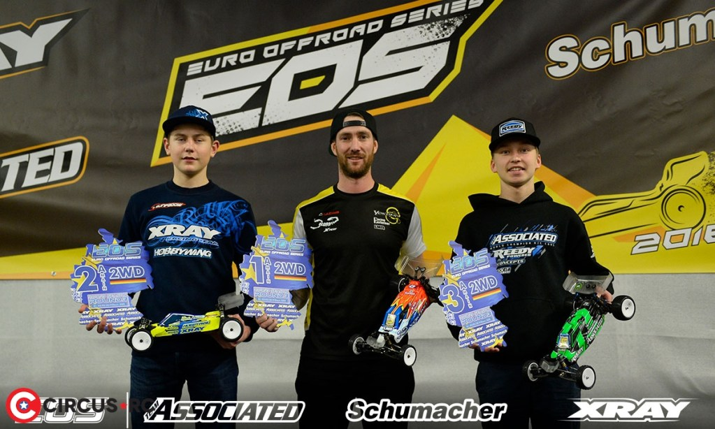 Martin, Coelho & Gotzl remportent la 3ème manche des EOS