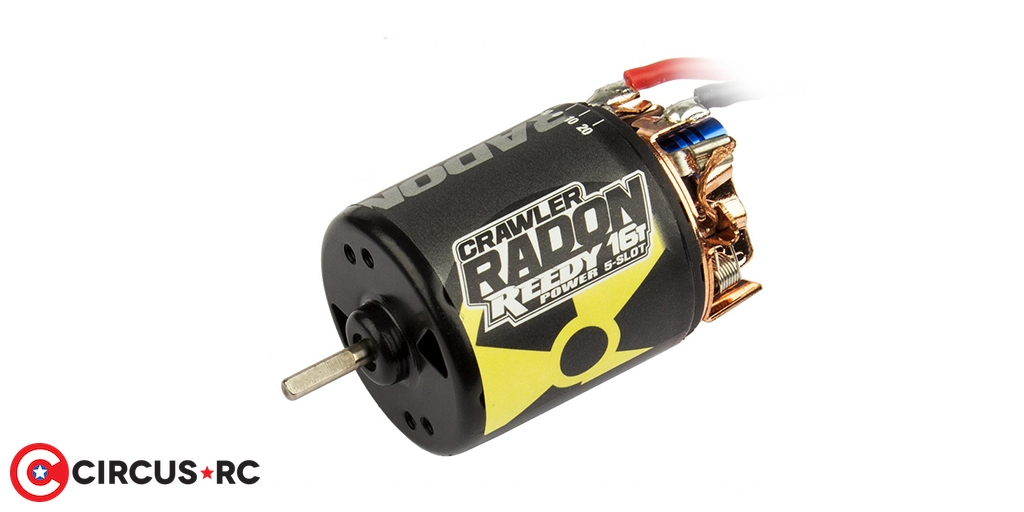 Reedy Radon 2 brushed 5-Slot Crawler motors