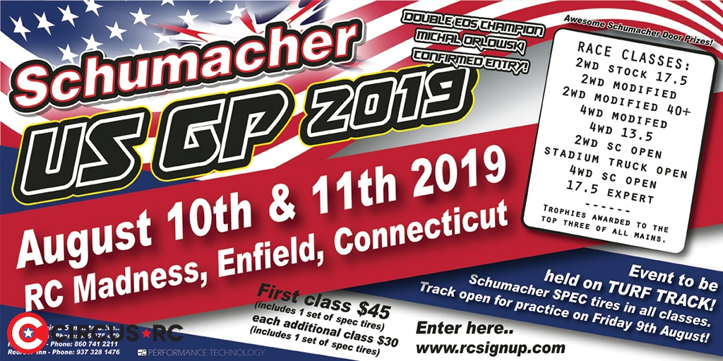 Schumacher US Grand Prix 2019 announcement