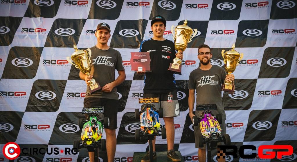 Davide Ongaro wins RCGP Rd1