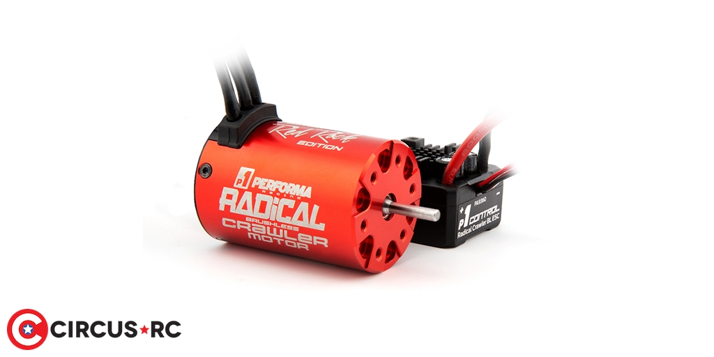 Performa P1 Radical Limited Red Rock Edition Crawler combo