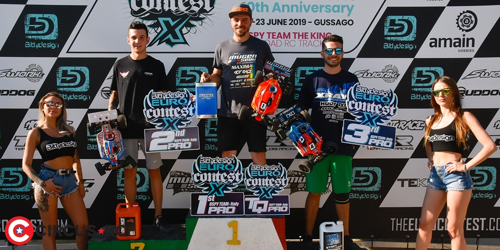 Batlle & Ongaro win at EURO Contest X
