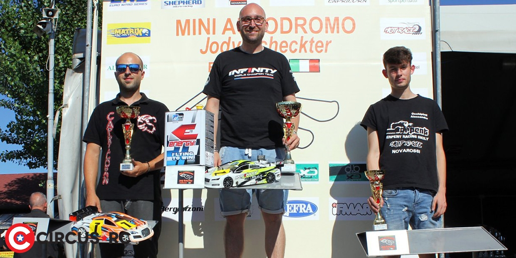 Tironi & Picco win at Italian IC Track champs Rd2