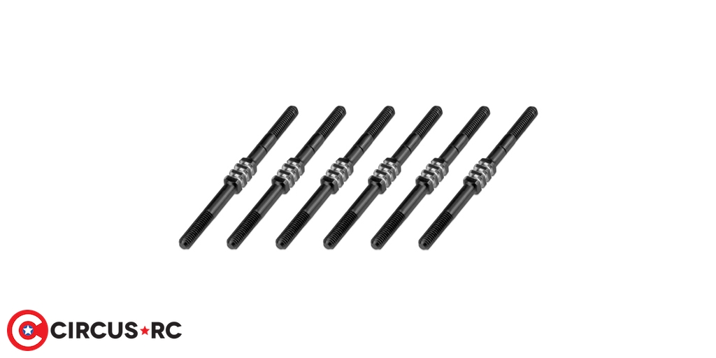 JConcepts B6.1 Fin black titanium turnbuckle set