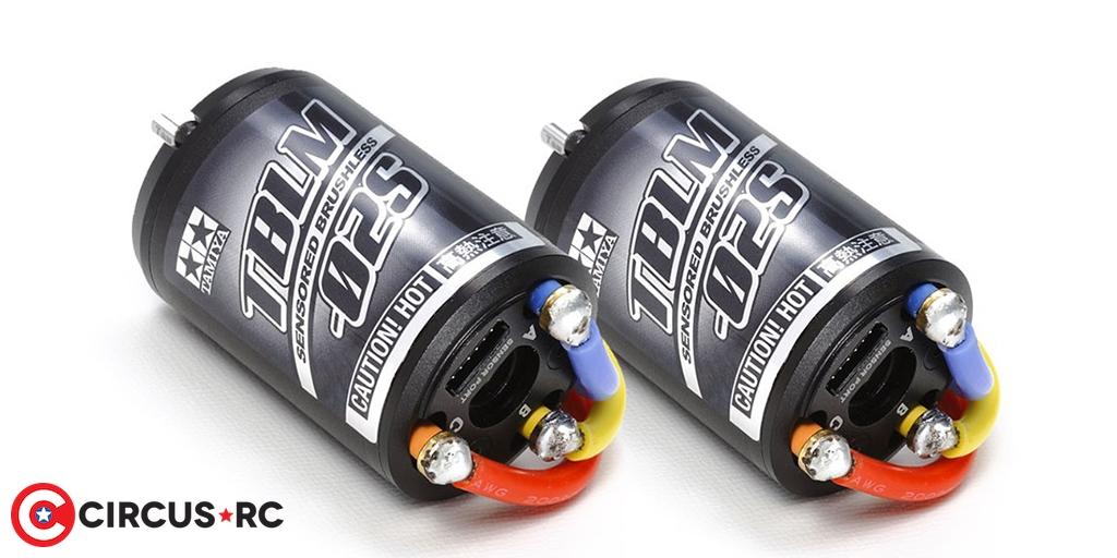 Tamiya 17.5T & 21.5T brushless motors