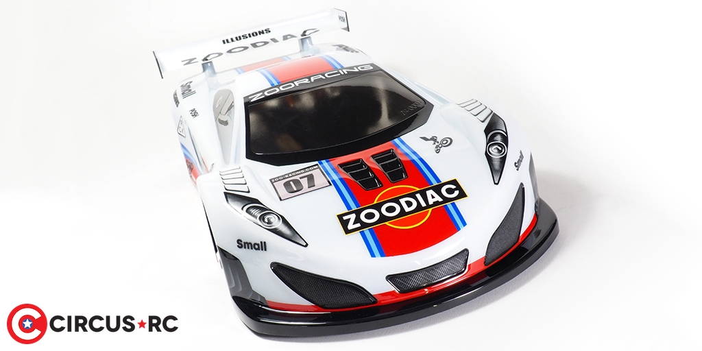 ZooRacing Zoodiac 190mm GT body
