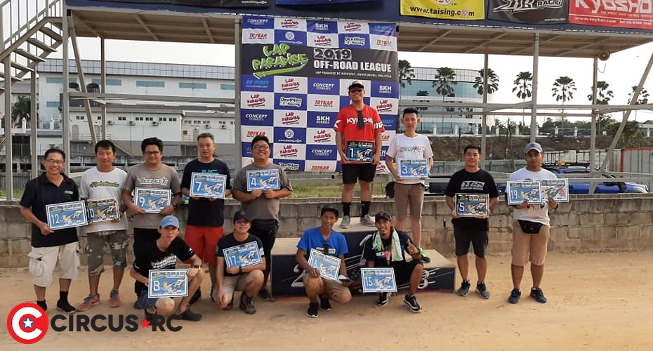 Miswan & Hwee crowned Lap Paradise Off-Road League Champions
