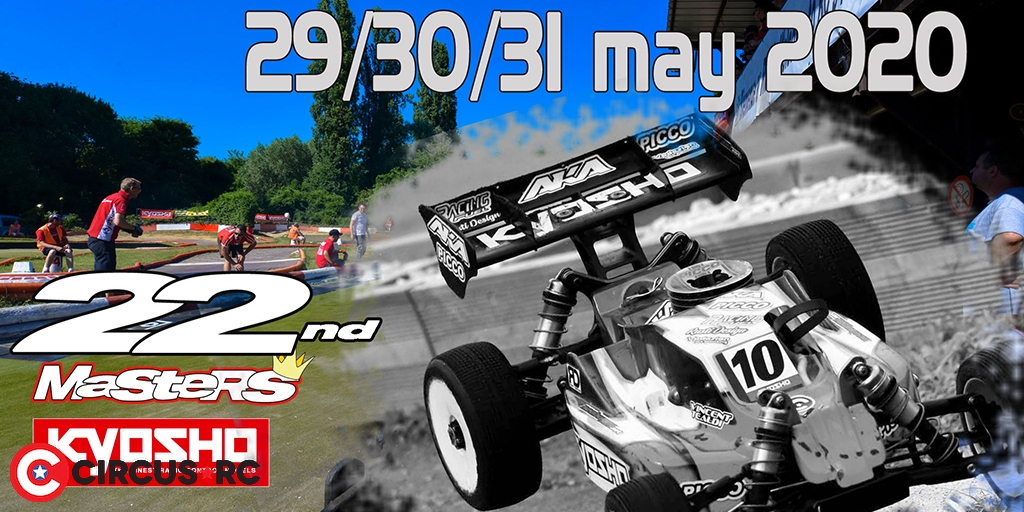 22th Kyosho Masters: save the date!