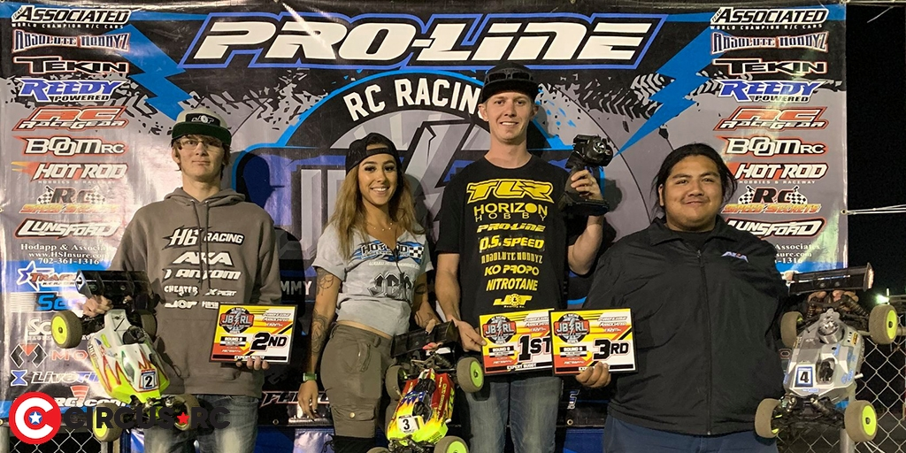 Anthony Westergaard doubles at JBRL Nitro Off-Road Series Rd8
