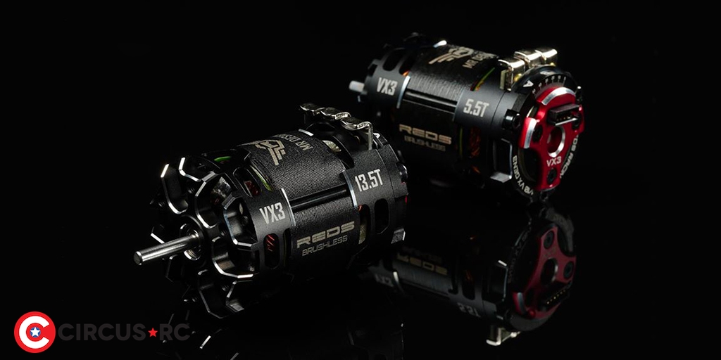 Coming soon: REDS Racing VX3 brushless motor