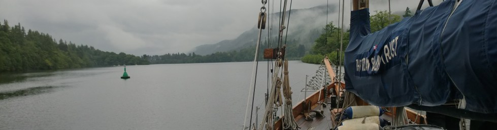 Scenic sail for Duet