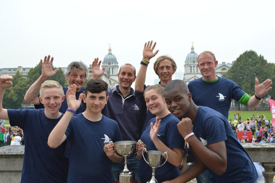 Duet wins the Falmouth to Greenwich Tall Ships Regatta
