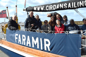 Friends and supporters aboard Faramir