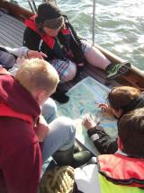 Wilderness group on Duet looking at charts