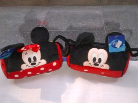 Micky and Minnie Pouch
