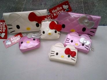 Aneka Dompet Kulit Hello Kitty