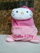 Tas Punggung Beludru Hello Kitty