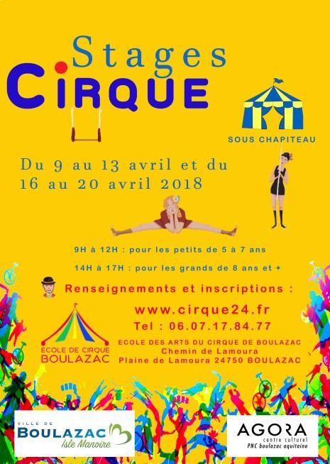 Ecole des arts du cirque de Boulazac - Périgueux cirque-de-perigueux Stages de cirque en Avril