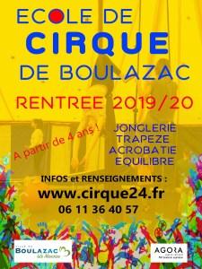 Ecole des arts du cirque de Boulazac - Périgueux Affiche-internet-rentrée-2 Rentrée 2019/20