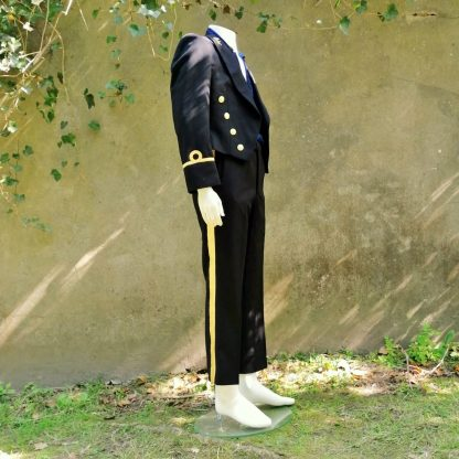 Ceremonial Navy suit black