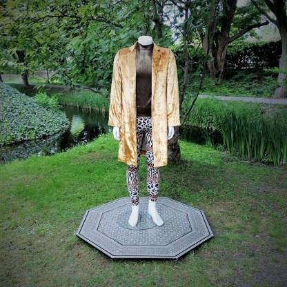 velvet jacket gold