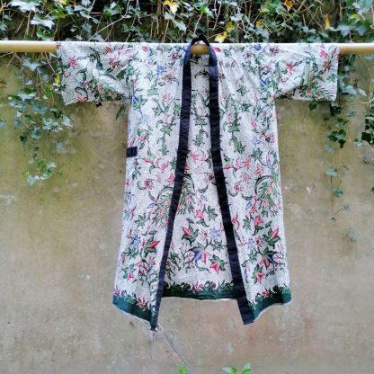 cotton batik kimono