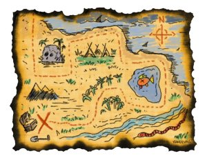 Draw a Treasure Map - great way to identify project risks