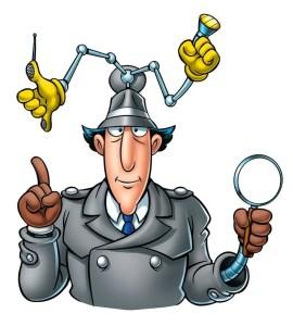 Inspector Gadget time!