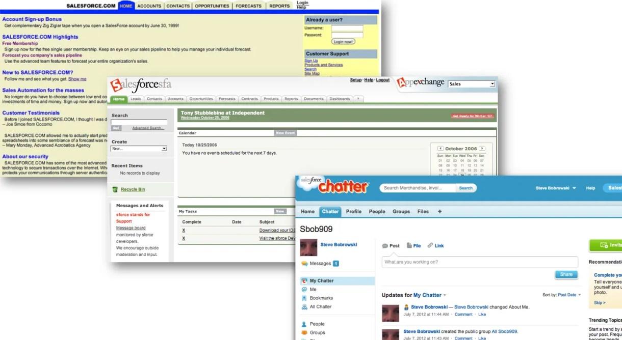 Old Salesforce User Interfaces: Pre-Lightning UI