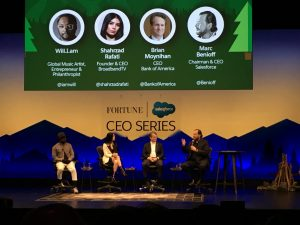 Dreamforce: CEO Series panel with Marc Benioff