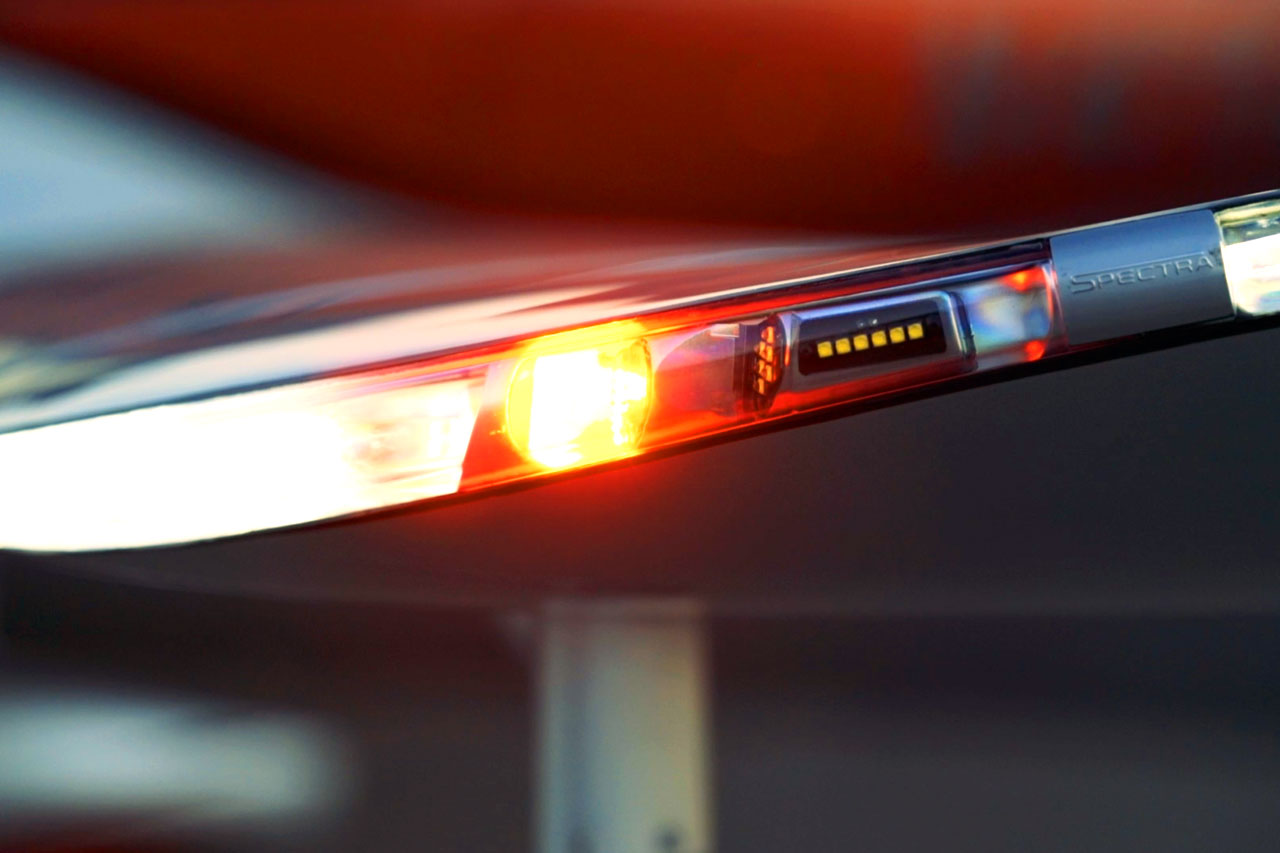 luces de punta de plano
