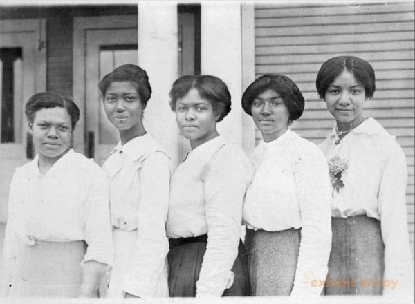 Teachers at the Allensworth School