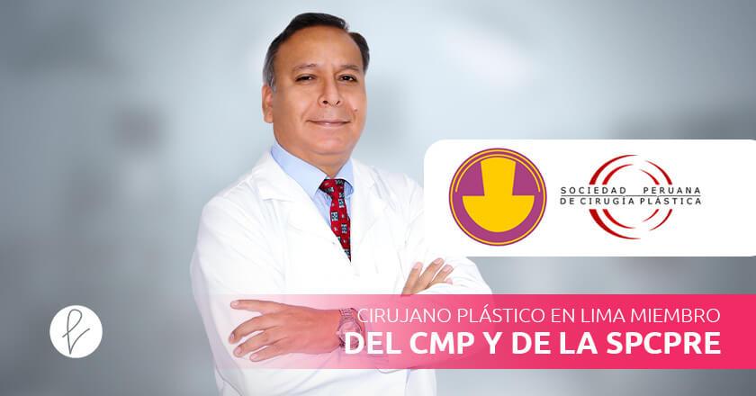 Cirujano Plástico en Lima miembro del CMP y de la SPCPRE