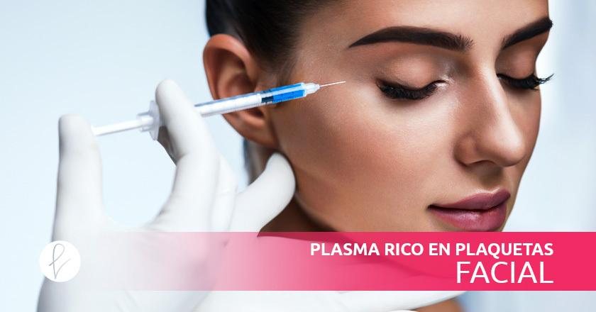 Plasma Rico en Plaquetas Facial