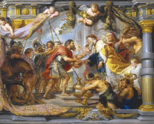 Lech-Lecha. The Meeting between Abraham and Melchizedek (painting circa 1625 by Peter Paul Rubens). Public Domain