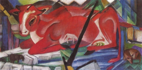 The World Cow (1913 painting by Franz Marc)