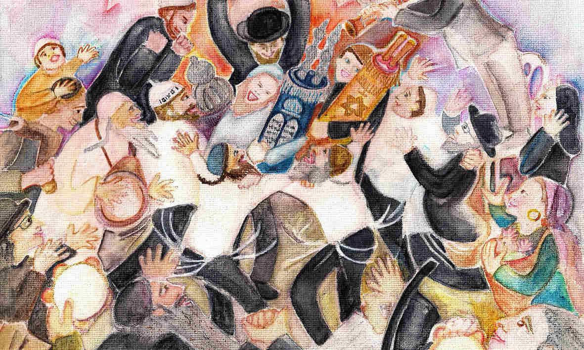 Painting: Chana Helen Rosenberg