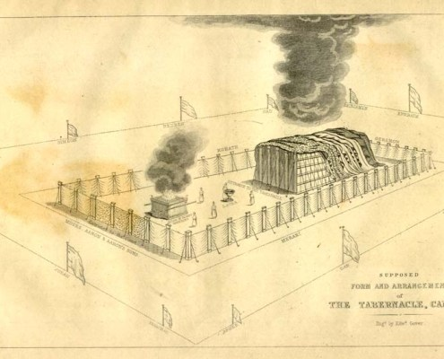 The Tabernacle and the Camp. Public Domain