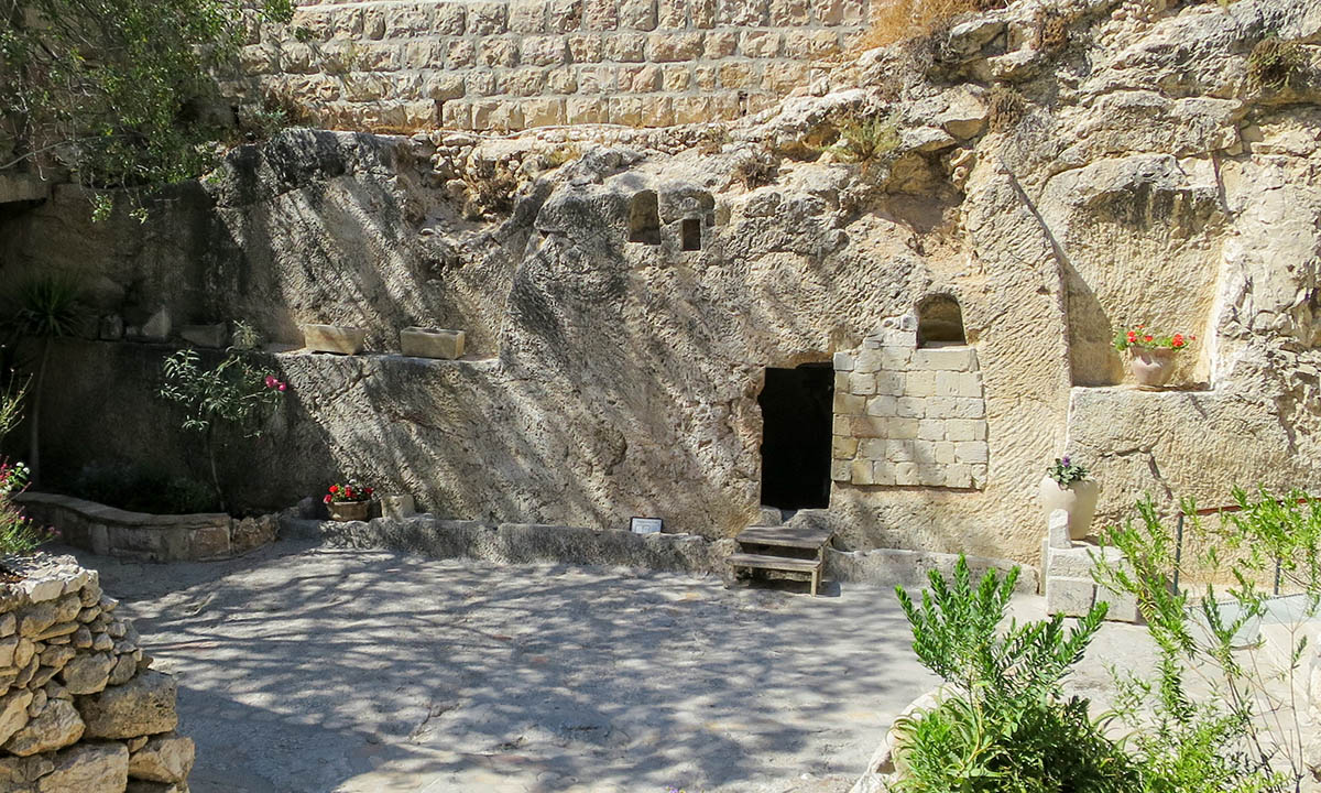 The Garden tomb, Jerusalem. © Public domain