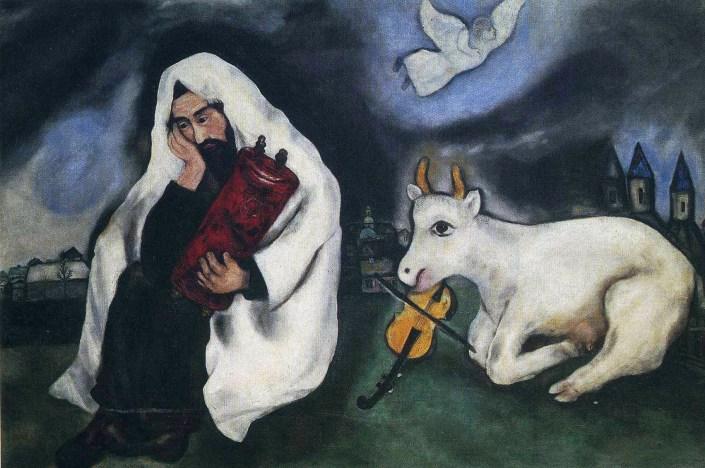 "М. Шагал ""Одиночество"""