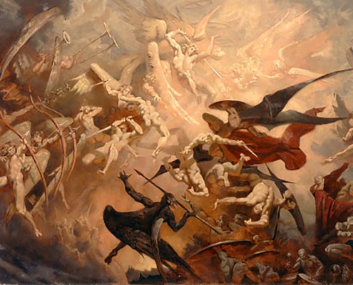Battle of the Angels by Alexey Steele, 1996