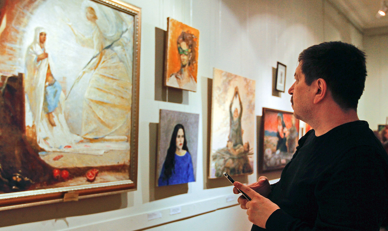 В Москве прошла выставка «Еврейская женщина в Танахе». Фотогалерея
