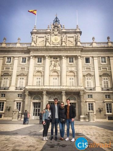 Visiting Palacio Real